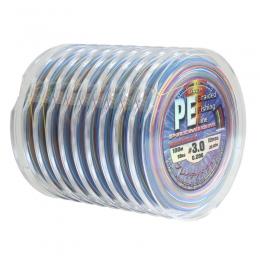 Плетено влакно PE Braid Multicolour - 100m