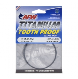 Повод Titanium Tooth Proof, Single Wire