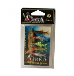 Чепаре със силикони Orka - Small Fishes - R-3-MIX