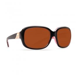 Очила Costa - Gannet Shiny Black / Hibiscus - Copper 580P
