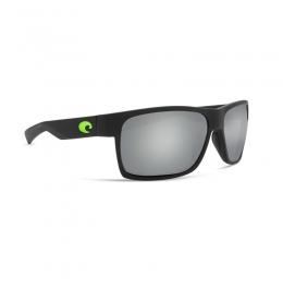 Очила Costa - Half Moon - Matte Black + Green logo -  Gray S