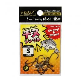 Куки ZH-49:Chinu Single Hook - BN