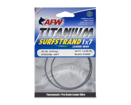Повод AFW Titanium Surfstrand, 1x7 Leader Wire